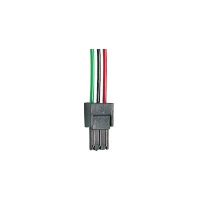 CONECTOR MACHO 3 POLOS (UNIDAD)