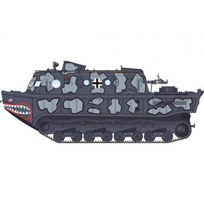 TRACTOR ANFIBIO L Land-Wasser-Schlepper (LWS) Medium - Hobby Boss 82919