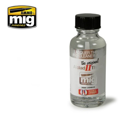Aclad metal: THINNER (30 ml) - Ammo Mig 8200