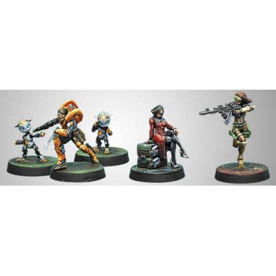 MISSION PACK 6 DEFIANT TRUTH ( YU JING VS HAQQISLAM) (5 MINIATURAS)