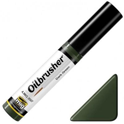 OILBRUSHER: VERDE OSCURO - Ammo Mig 3507