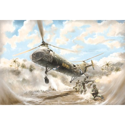 PIASECKI H-21 SHAWNEE -Flying Banana- ITALERI 2733