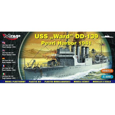 DESTRUCTOR U.S.S. WARD DD-139 1/400 - Mirage Hobby 40601