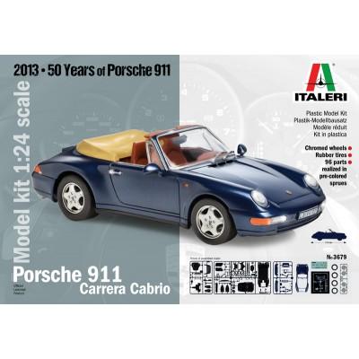 PORSCHE 911 Cabrio 1/24 - Italeri 3679