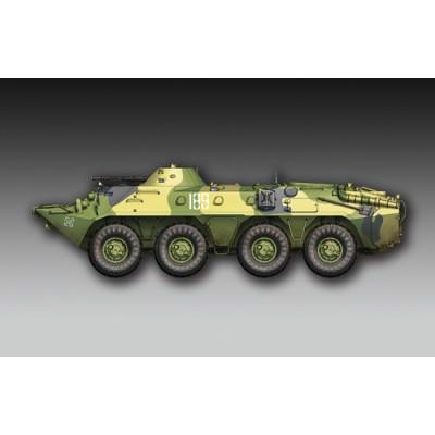 TRANSPORTE DE TROPAS BTR-70 Late - Trumpeter 07138