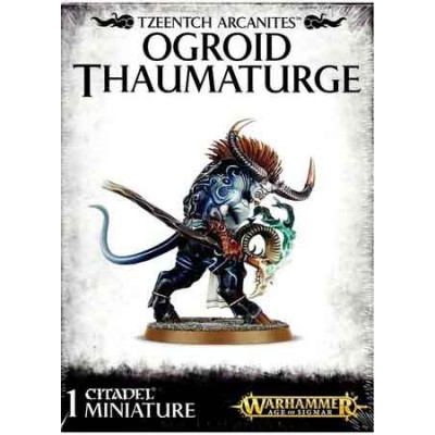 TZEENTCH ARCANITES OGROID THAUMATURGE - GAMES WORKSHOP 83-77