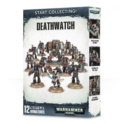 START COLLECTING DEATHWATCH - GAMES WORKSHOP 70-39