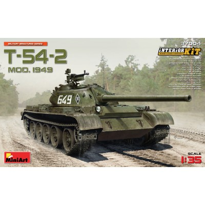 CARRO DE COMBATE T-54-2 (Mod. 1949) - MiniArt 37004