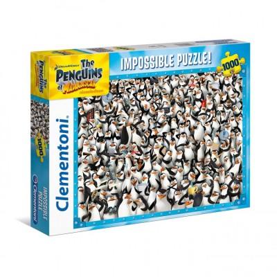 PUZZLE 1000 PZS PENGUIN IMPOSIBLE - 69 X 50 CMCLEMENTONI 39358