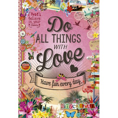 PUZZLE 500 PZS DO ALL THING WITH LOVE- EDUCA 17086