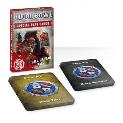 BLOOD BOWL: Tarjetas SALON DE LA FAMA