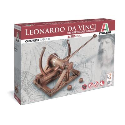 Leonardo da vinci catapulta italeri 3105 for Catapulta di leonardo da vinci