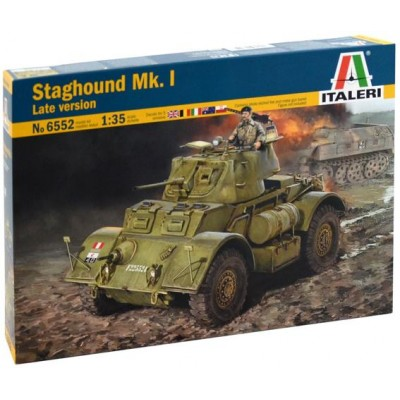VEHICULO BLINDADO STAGHOUND Mk-I Late 1/35 - Italeri 6552