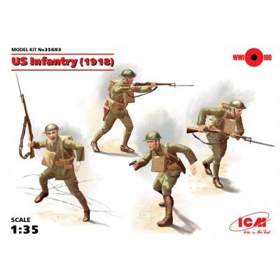 INFANTERIA U.S. ARMY (1ª Guerra Mundial) - ICM 35693