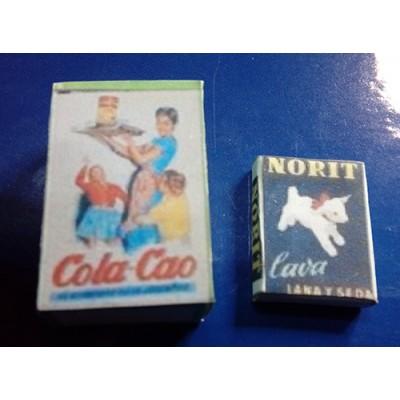 CAJAS DE COLA-CAO Y NORIT