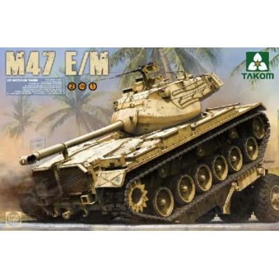 CARRO DE COMBATE M-47 E-1/E2 C/ESP - Takom 2072