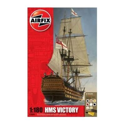 H.M.S. VICTORY 1/180 (Pegamento y pinturas) Airfix A50049