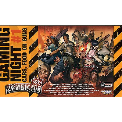 ZOMBICIDE: Gaming Night 1, Cars, Food or Guns