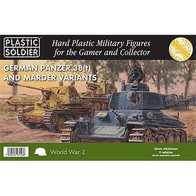 CARROS 38(t) & MARDER - Plastic Soldier WW2V15025