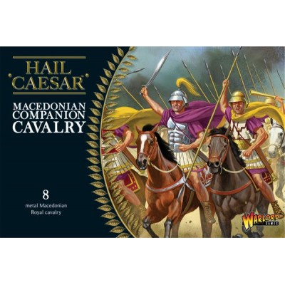 CABALLERIA MACEDONICA COMPAÑEROS (METAL 28MM 8 FIGURAS) WARLORD GAMES HMAC03 2
