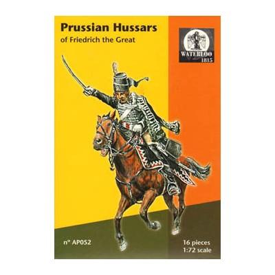 CABALLERIA HUSARES PRUSIANOS, Federico El Grande - Waterloo1815 AP052