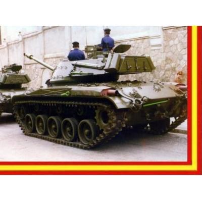 CARRO DE COMBATE M-41 WALTER BULLDOG Nº1 ESPAÑOL