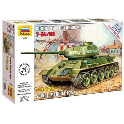 CARRO DE COMBATE T-34/85 - Zvezda 5039