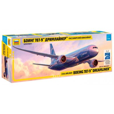 BOEING 787-9 DREAMLINER - Zvezda 7021 - ESCALA 1/144