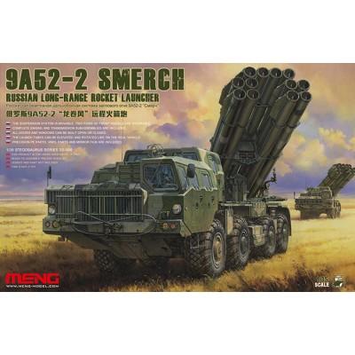 CAMION LANZACOHETES 9A52-2 SMERCH - Meng Model SS-009