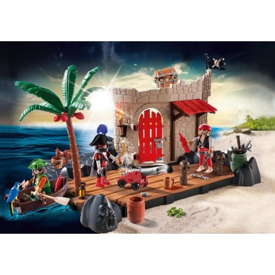 SUPER SET FUERTE PIRATA - PLAYMOBIL 6146