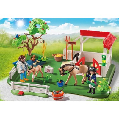 SUPER SET PRADO DE CABALLOS - PLAYMOBIL 6147