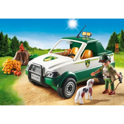 GUARDABOSQUES CON PICK-UP - PLAYMOBIL 6812