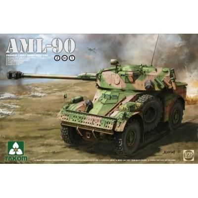 VEHICULO BLINDADO AML-90 - Takom 2077