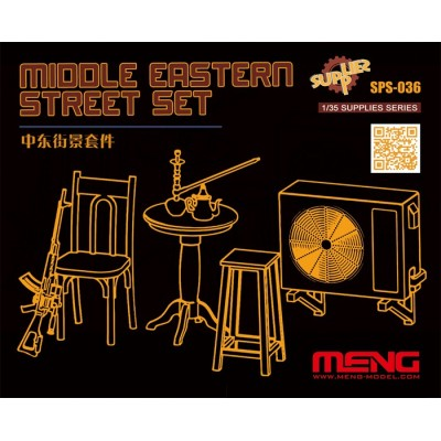 ACCESORIOS PARA CALLE ORIENTE MEDIO - Meng SPS-036