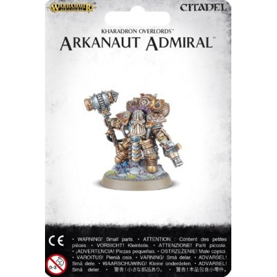 KHARADRONS OVERLORD ARKANAUT ADMIRAL - GAMES WORKSHOP 84-31
