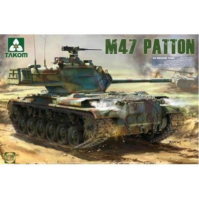 CARRO DE COMBATE M-47 / G - Takom 2070