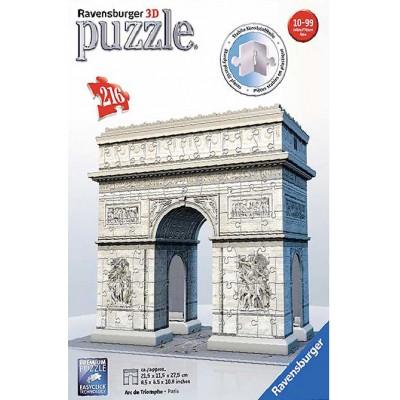 PUZZLE 3D 216 pzas. ARCO DEL TRIUNFO - RAVENSBURGER 12514