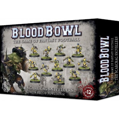 BLOOD BOWL SCARCRAG SNIVELLERS TEAM - GAMES WORKSHOP 200-27