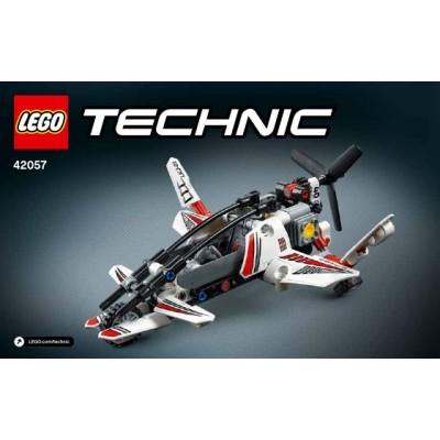 TECHNIC HELICOPTERO ULTRALIGERO LEGO 42057