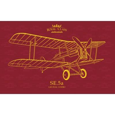 ROYAL AIRCRAFT FACTORY SE.5a (Dual Combo) - Eduard R0015