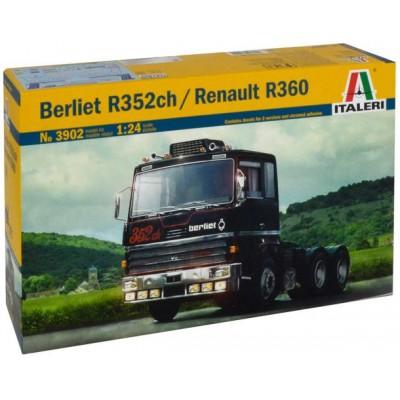 BERLIET R352ch / RENAULT R360 1/24 - Italeri 3902