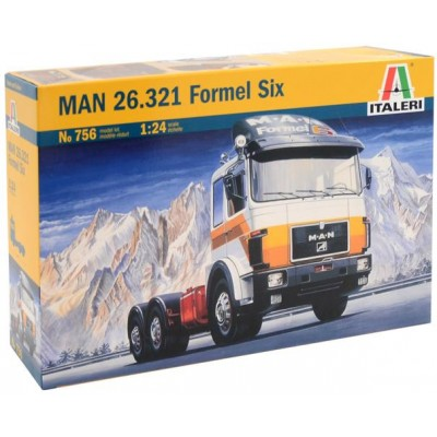 MAN 26.321 FORMEL SIX 1/24 - Italeri 756