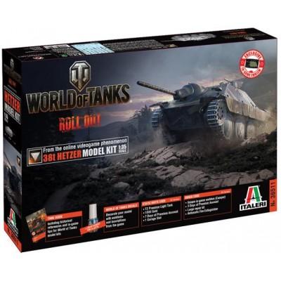 World of Tanks: CAZACARROS SD.KFZ. 138/2 HETZER - ITALERI 36511