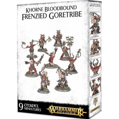 KHORNE BLOODBOUND FRENZIED GORETRIBE - GAMES WORKSHOP 100-08