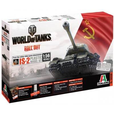 World of Tanks: IS-2 - Italeri 56506