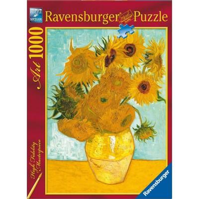 PUZZLE 1000 PZS LOS GIRASOLES DE VAN GOGH (50 X 70 CMS) . RAVENSBURGER 15805