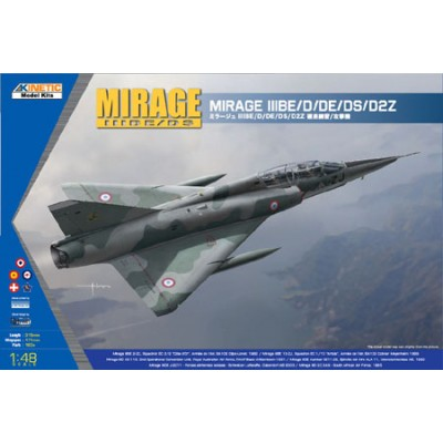 DASSAULT MIRAGE III D / DS - Kinetic K48054