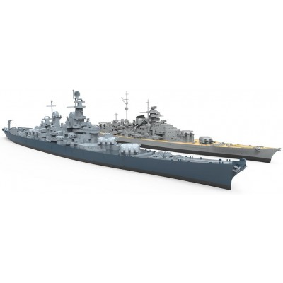 ACORAZADO U.S.S. Missouri (BB-63) - Meng Model PS004