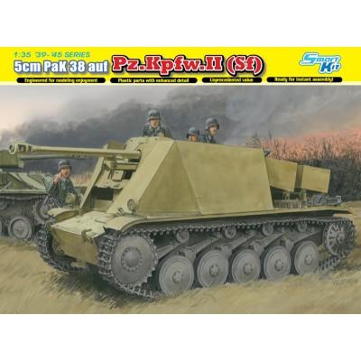 CAZACARROS PANZER II PAK-38 (50 mm) - Dragon 6721