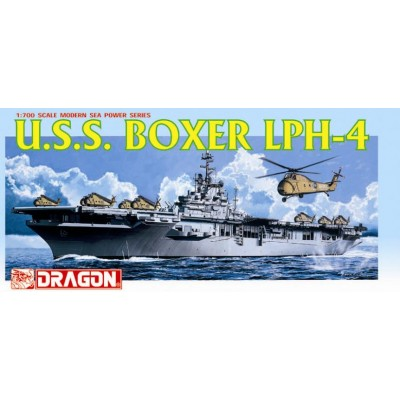 PORTAHELICOPTEROS LPH-4 U.S.S. BOXER - Dragon 7070